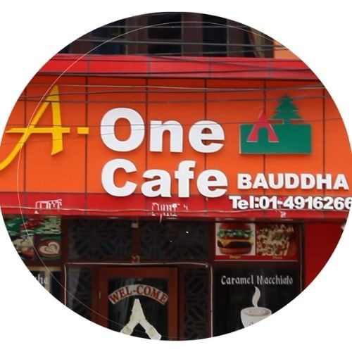 A One Cafe: Boudha